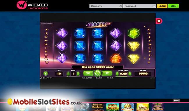 wicked jackpot slots