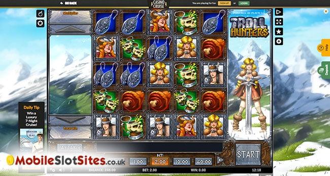 casino cruise slots