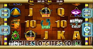 Mummys gold slot