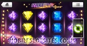 Starburst touch slot mobile