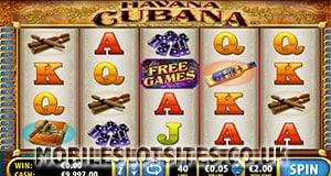 Havana Cubana mobile slot