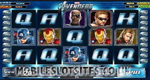 The Avengers mobile slot