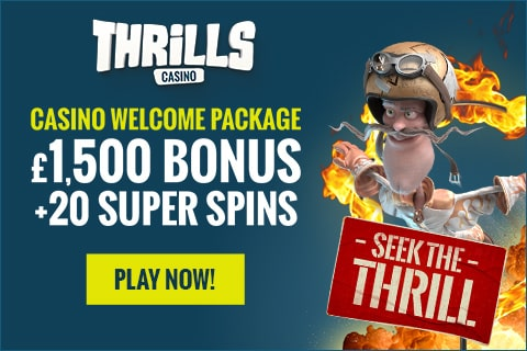 Thrills casino 50 free spins