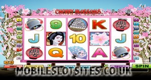 Cherry Blossoms mobile slot
