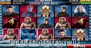 x men mobile slot