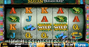 Mayan Treasures mobile slot