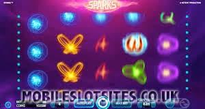 sparks mobile slot