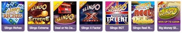 different slingo varieties