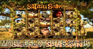 Safari Sam mobile slot