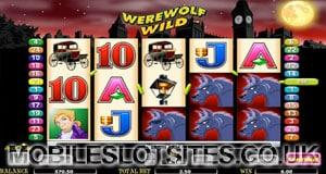 werewolf wild slot