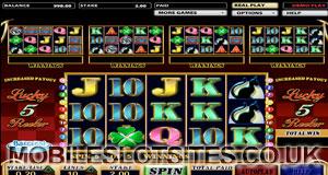 5 lucky reeler slot game