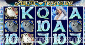 Arctic treasure mobile slot