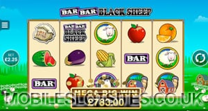 bar bar black sheep mobile slot