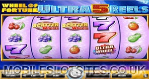 Wheel of Fortune Ultra 5 Reel