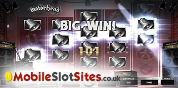 big win on motorhead slot
