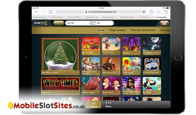 secret slots ipad game