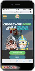 cashmio mobile casino