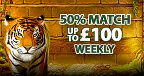 weekly match bonus
