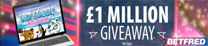 betfred givaway