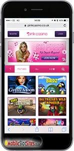 pink mobile casino