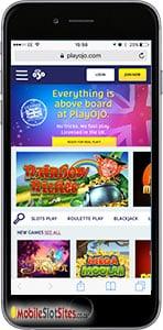 playojo mobile casino