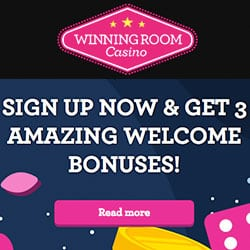 winning room bonus code