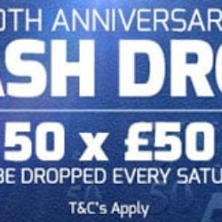 betfred cash drop