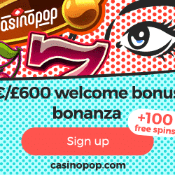 casino pop bonus code