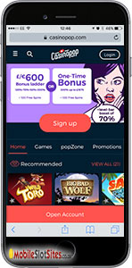 casino pop mobile