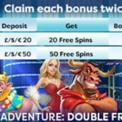 double free spin promotion