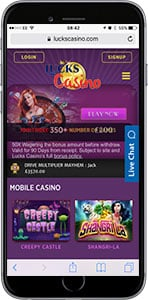 lucks mobile casino