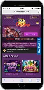 lucks mobile casino