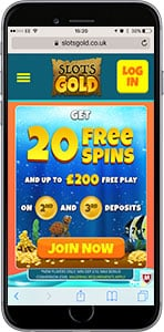 mobile slots gold