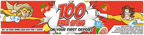 fantastic spins free 100