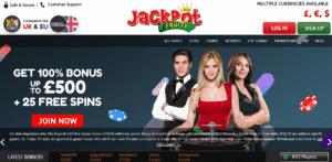 Jackpot fruity Casino Lobby