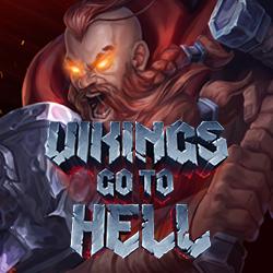 vikings go to hell slot logo