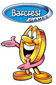 Barcrest Games Logo With Coin