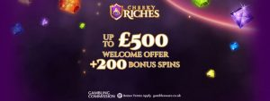 Cheeky Riches Welcome Bonus