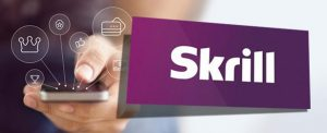 Skrill Logo With Smartphone