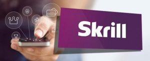 Skrill Logo With Smartphone