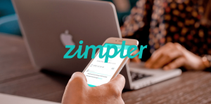 Zimpler Smartphone And Laptop
