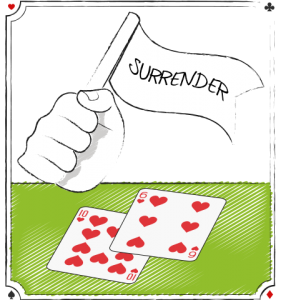 Blackjack Surrender Flag