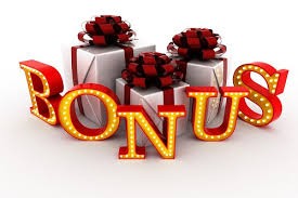 Online Casino Bonus Logo With Presents