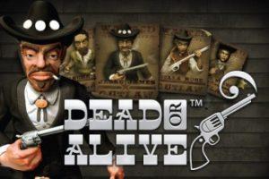 Dead or Alive Slot Logo NetEnt