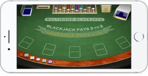 iPhone Blackjack Table