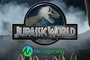 Jurassic World Slot Logo