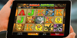 mega moolah jackpot slot gameplay