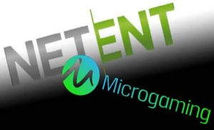 NetEnt and Microgaming Logos