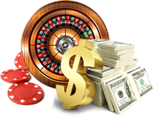 Roulette Wheel With Money