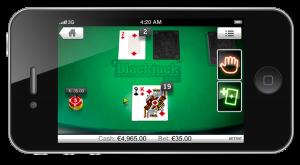 Video Blackjack on Mobile